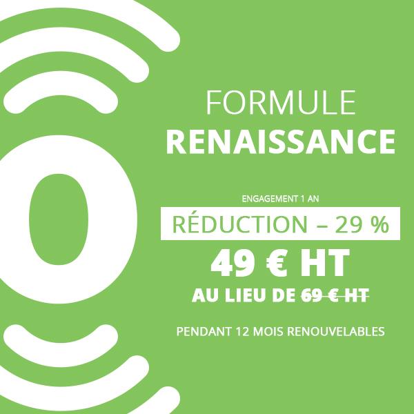 Formule renaissance 1 an - flyerspots