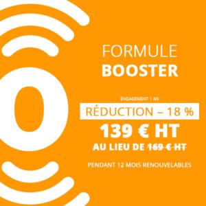 Formule booster 1 an - flyerspots