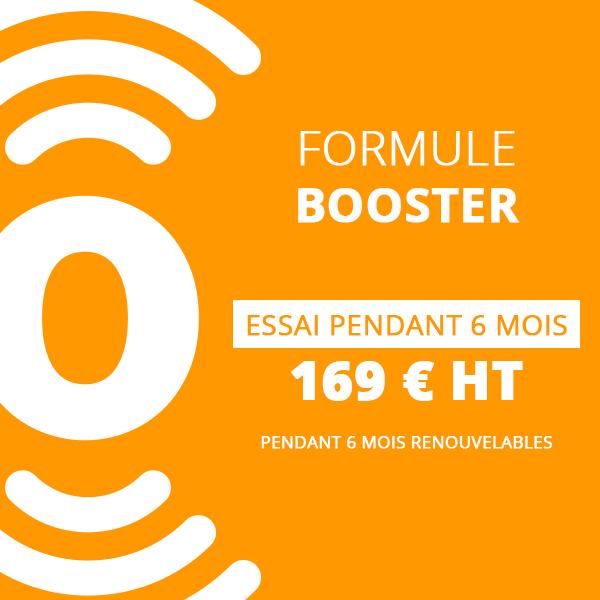 Formule booster 6 mois - flyerspots