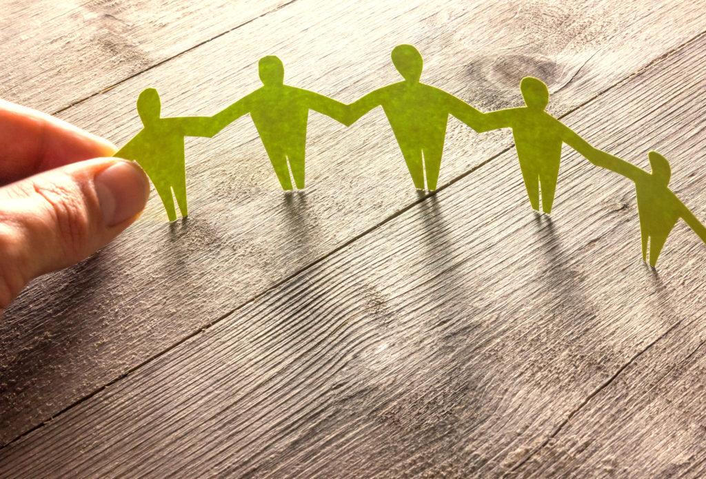 Village, créateur de liens sociaux